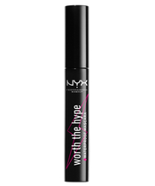 NYX Prof. Makeup Worth The Hype Waterproof Mascara 7 ml - Black
