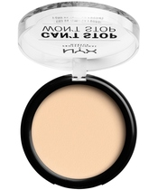 NYX Prof. Makeup Can't Stop Won't Stop Powder Foundation 10,7 gr. - Pale (U)