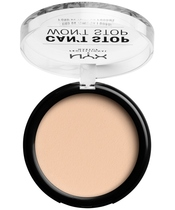 NYX Prof. Makeup Can't Stop Won't Stop Powder Foundation 10,7 gr. - Light Ivory