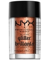 NYX Prof. Makeup Face & Body Glitter Brillants 2,5 gr. - Copper