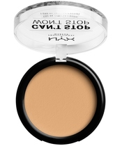 NYX Prof. Makeup Can't Stop Won't Stop Powder Foundation 10,7 gr. - True Beige