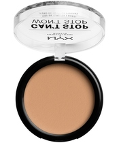 NYX Prof. Makeup Can't Stop Won't Stop Powder Foundation 10,7 gr. - Medium Olive