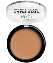 NYX Prof. Makeup Can't Stop Won't Stop Powder Foundation 10,7 gr. - Natural Buff (U)