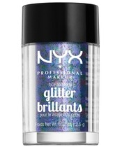 NYX Prof. Makeup Face & Body Glitter Brillants 2,5 gr. - Violet