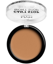 NYX Prof. Makeup Can't Stop Won't Stop Powder Foundation 10,7 gr. - Golden Honey