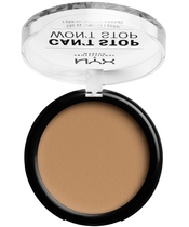 NYX Prof. Makeup Can't Stop Won't Stop Powder Foundation 10,7 gr. - Caramel (U)