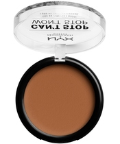 NYX Prof. Makeup Can't Stop Won't Stop Powder Foundation 10,7 gr. - Warm Caramel