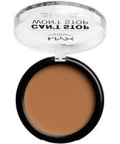 NYX Prof. Makeup Can't Stop Won't Stop Powder Foundation 10,7 gr. - Warm Honey (U)