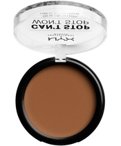 NYX Prof. Makeup Can't Stop Won't Stop Powder Foundation 10,7 gr. - Cappucino (U)