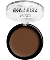 NYX Prof. Makeup Can't Stop Won't Stop Powder Foundation 10,7 gr. - Deep Cool (U)