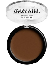 NYX Prof. Makeup Can't Stop Won't Stop Powder Foundation 10,7 gr. - Walnut