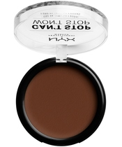 NYX Prof. Makeup Can't Stop Won't Stop Powder Foundation 10,7 gr. - Deep Walnut