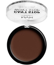 NYX Prof. Makeup Can't Stop Won't Stop Powder Foundation 10,7 gr. - Deep Espresso