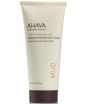 AHAVA Leave-On Deadsea Mud Dermud Intensive Foot Cream 100 ml