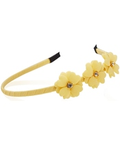 Everneed Mynte Hairband W. Flowers - Sun Kissed (2135)