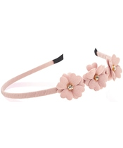 Everneed Mynte Hairband W. Flowers - Nude Rose (2111)