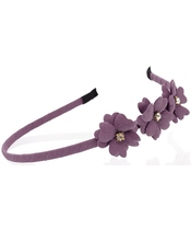 Everneed Mynte Hairband W. Flowers - Purple Fun (2104)