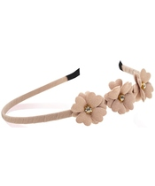 Everneed Mynte Hairband W. Flowers - Nougat (2142)