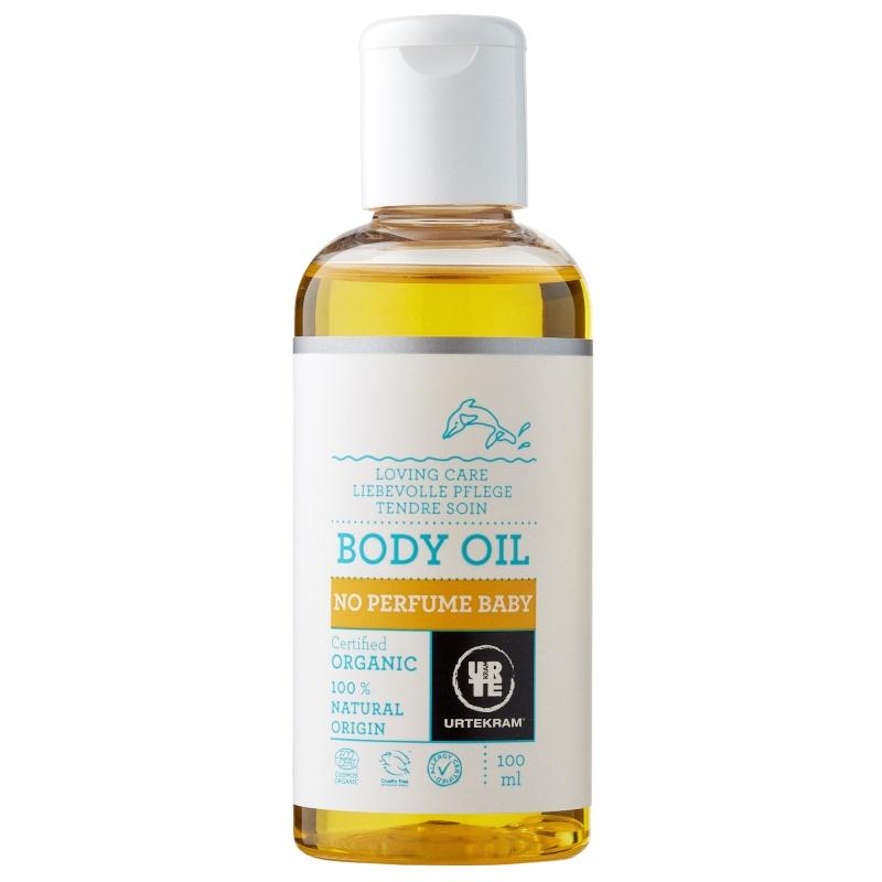 Billede af Urtekram No Perfume Baby Body Oil 100 ml