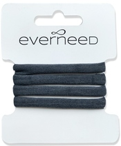 Everneed Plain Soft Rubber Hair Elastics - Mirror (4221)
