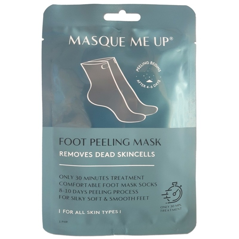 Køb Masque Me Up Foot Peeling Mask 1 Pair til 28,00 kr.