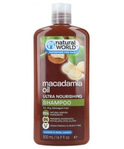 Natural World Macadamia Oil Ultra Nourishing Shampoo 500 ml