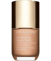 Clarins Everlasting Youth Fluid Foundation SPF15 30 ml - 109 Wheat