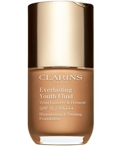 Clarins Everlasting Youth Fluid Foundation SPF15 30 ml - 114 Cappucino