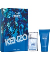 Kenzo L'Eau Kenzo Pour Homme EDT + Hair & Body Gel Gift Set (Limited Edition) (U)