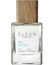 Clean Perfume Reserve Warm Cotton [Reserve Blend] EDP 50 ml