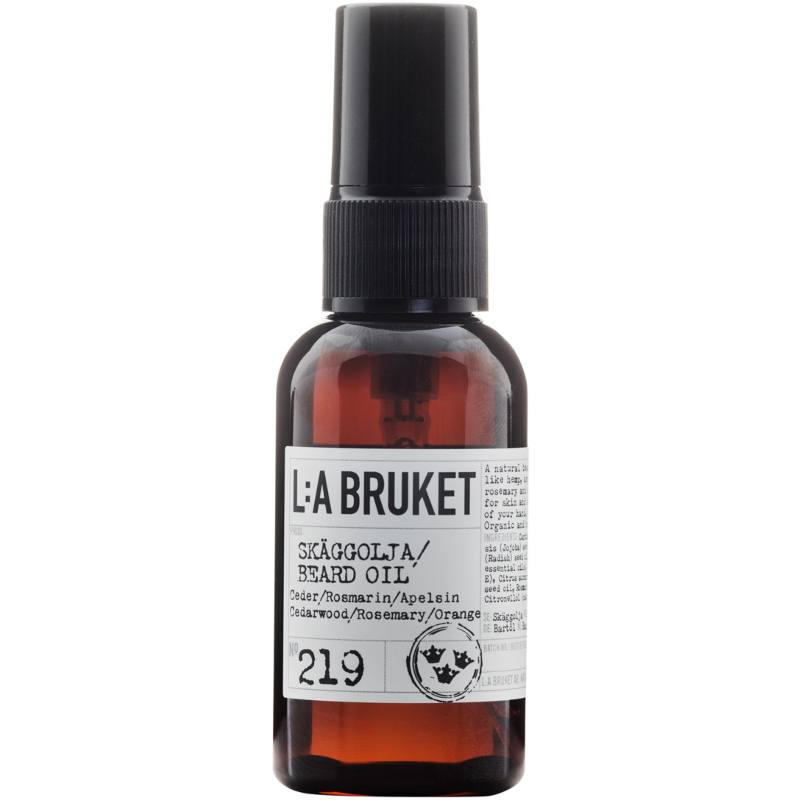 L:A Bruket 219 Beard Oil 60 ml