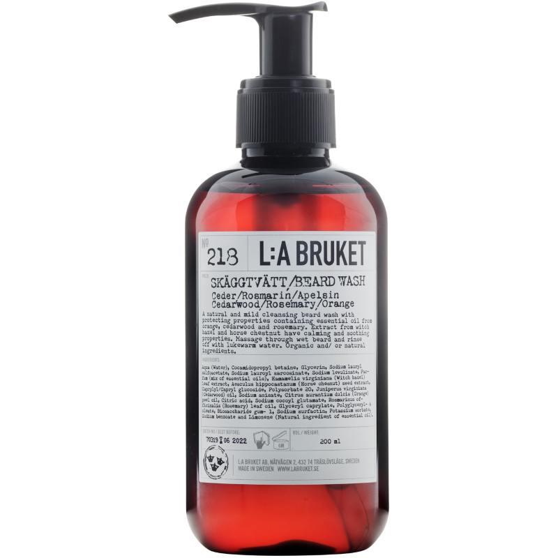 L:A Bruket 218 Beard Wash 200 ml