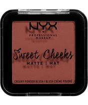 NYX Prof. Makeup Sweet Cheeks Creamy Powder Blush 5 gr. - Totally Chill