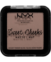 NYX Prof. Makeup Sweet Cheeks Creamy Powder Blush 5 gr. - So Taupe