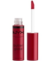 NYX Prof. Makeup Butter Gloss 8 ml - Cranberry Biscotti