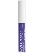 NYX Prof. Makeup Glow-On Lip Gloss 7,5 ml - Violent Violet (Limited Edition) (U)
