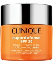 Clinique Superdefense SPF 25 Multi-Correcting Cream Very Dry To Dry Combination Skin 50 ml