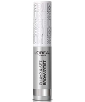 L'Oreal Paris Cosmetics Brow Artist Plump & Set 4,9 ml - 000 Transparent Serum
