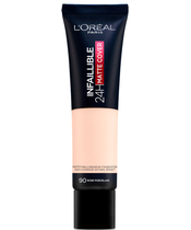 L'Oréal Paris Cosmetics Infaillible 24H Matte Cover Foundation 30 ml - 90 Rose Porcelain