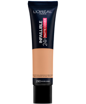 L'Oreal Paris Cosmetics Infaillible 24H Matte Cover Foundation 30 ml - 290 Golden Amber