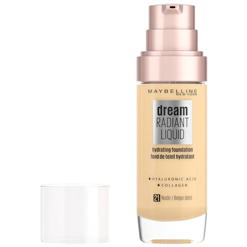 Maybelline Dream Radiant Liquid Foundation 30 ml - 21 Nude