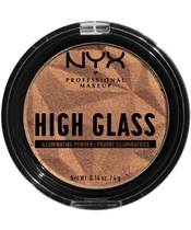 NYX Prof. Makeup High Glass Illuminating Powder 4 gr. - Golden Hour