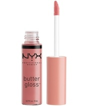 NYX Prof. Makeup Butter Gloss 8 ml - Tiramisu