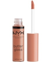 NYX Prof. Makeup Butter Gloss 8 ml - Madeleine