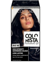 L'Oréal Paris Colorista Permanent Gel #deepblack