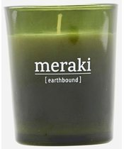 Meraki Scented Candle 5,5 x 6,7 cm - Earthbound