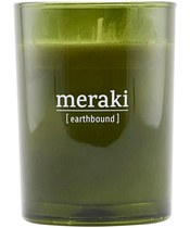 Meraki Scented Candle 8 x 10,5 cm - Earthbound