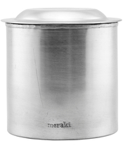 Meraki Jar w. Lid Silver Finish