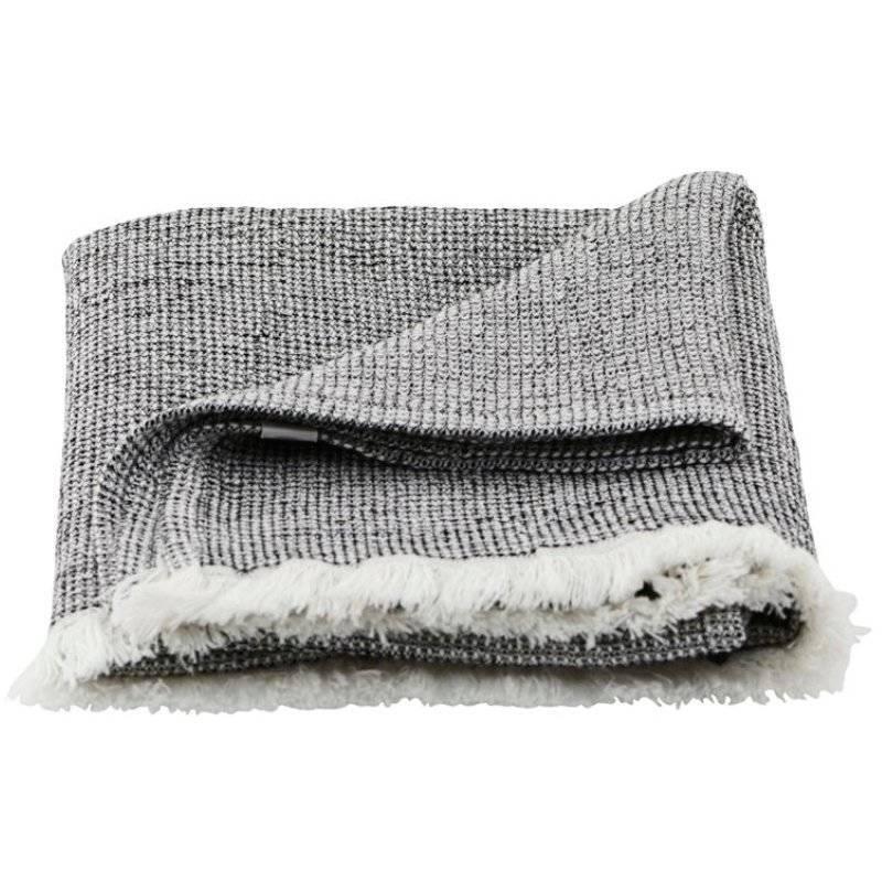 House Doctor Towel Latur Grey Melange 100 x 50 cm thumbnail