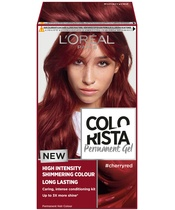 L'Oréal Paris Colorista Permanent Gel #cherryred